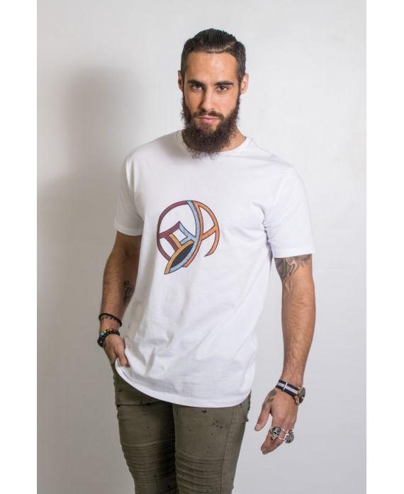 T-shirt bio col rond l'oeil ky-kas