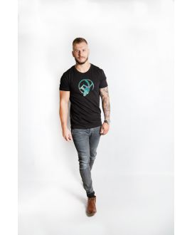 Ky-kas tee-shirt homme col rond coton bio