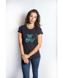 Ky-kas tee-shirt femme coton bio