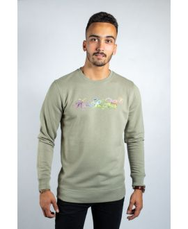 KY-KAS SWEAT-SHIRT HOMME COTON BIO COL ROND